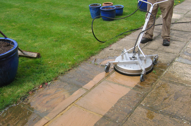 Patio driveway cleaning bromley ultra power pressure for Pressure washer driveway cleaner