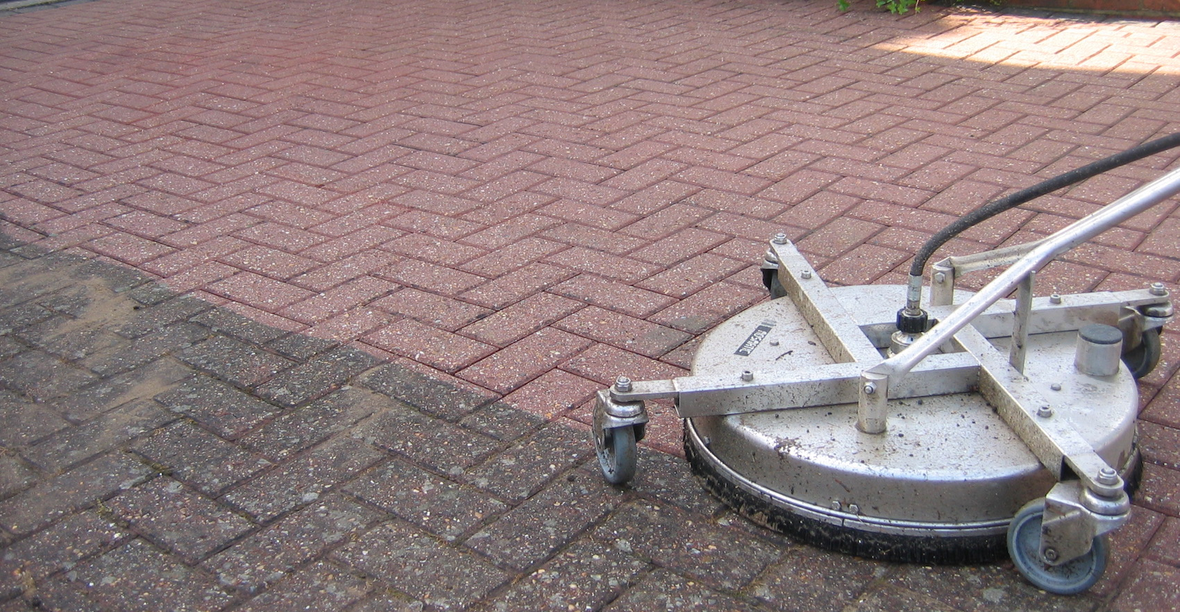 Ultra Power Pressure Washing Driveway Cleaning Before And
