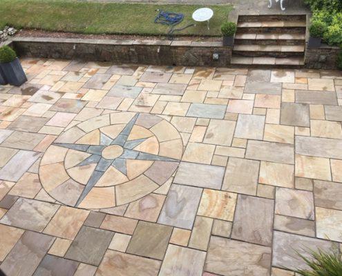 Lichen mark removal