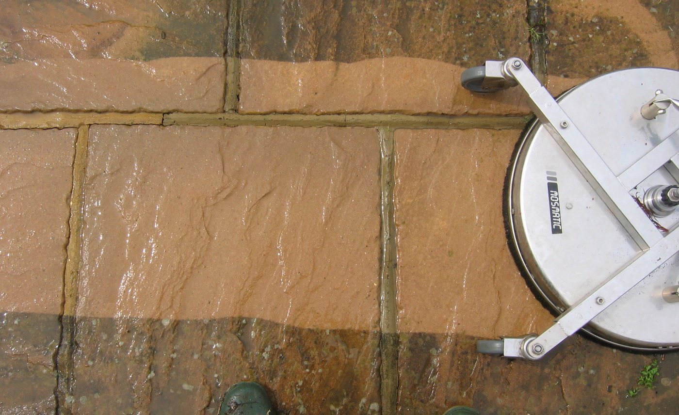 Patio And Driveway Jet Wash Cleaning In Otford Ultra